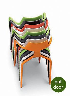 P1673A Stacking Restaurant Armchair