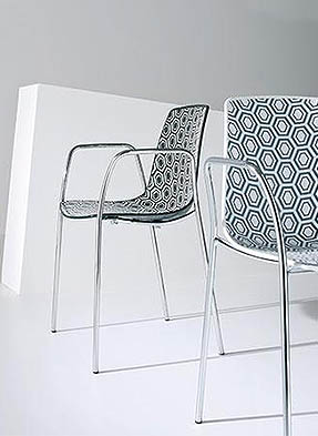 P1866A Stacking Restaurant Armchair