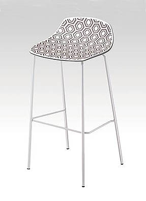 P1866HS High Restaurant Stool