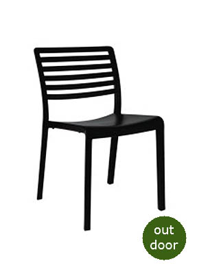 P1898S Stacking Side Restaurant Chair