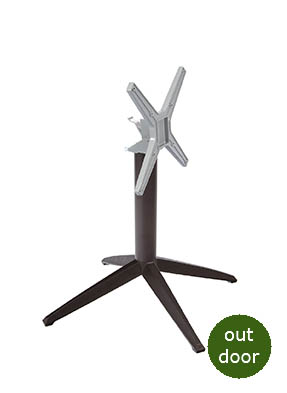 Braga Aluminium Flip Top Table