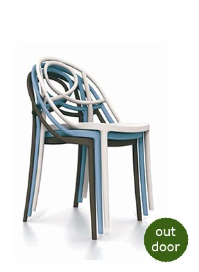 P2061S Stacking Side Chair