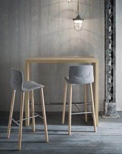 Restaurant chair and table