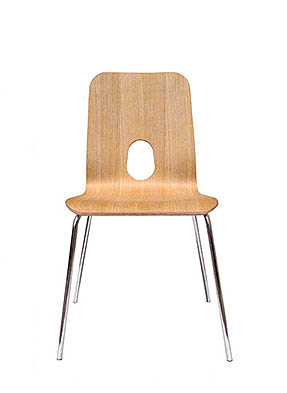 P1143S Stacking Side Restaurant Chair