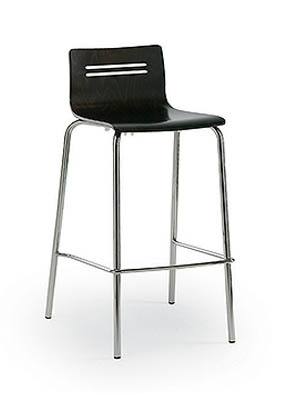 P1275HS Stacking High Restaurant Stool