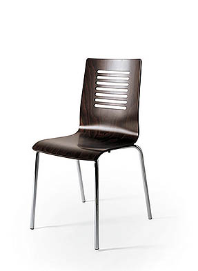 P1275S Stacking Side Restaurant Chair