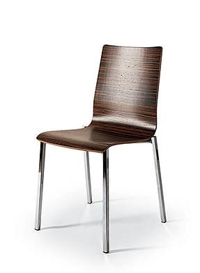 P1283S Stacking Side Restaurant Chair