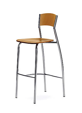 P1298HS Stacking High Restaurant Stool