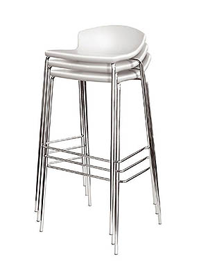 P1363HS Stacking High Restaurant Stool
