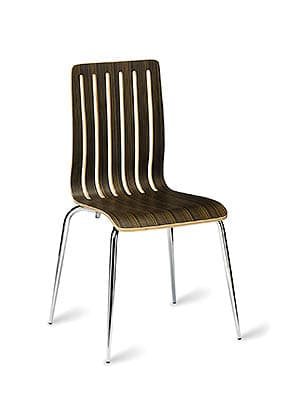P1510S-DZ Stacking Side Restaurant Chair