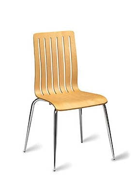 P1510S-N Stacking Side Restaurant Chair
