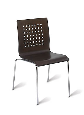 P1525S Stacking Side Restaurant Chair