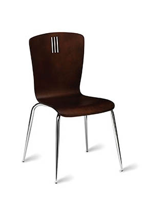 P1539S Stacking Side Restaurant Chair