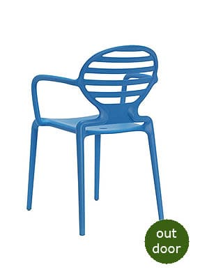 P1860A Stacking Restaurant Armchair