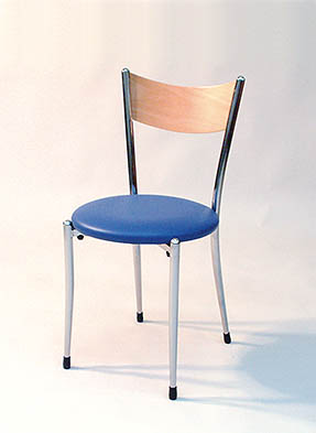 P629S Stacking Side Restaurant Chair