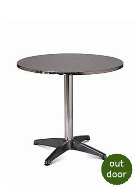 Roma Table with Aluminium Top