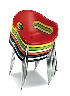 P1387A Stacking Restaurant Armchair