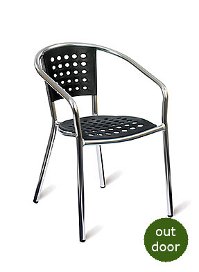 P1515A Stacking Restaurant Armchair