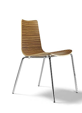 P1604S Stacking Side Restaurant Chair