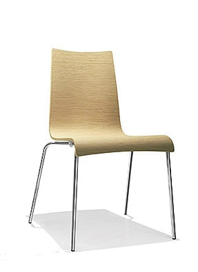 P1606S Stacking Side Restaurant Chair