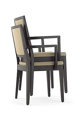 P1628A Stacking Armchair