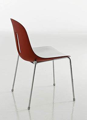 P1671S Stacking Side Restaurant Chair