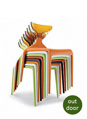 P1674S Stacking Side Restaurant Chair