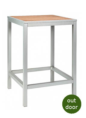 Plaza Freestanding Poseur Restaurant Table