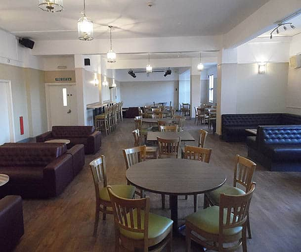 Staff Bar Area – Leicestershire