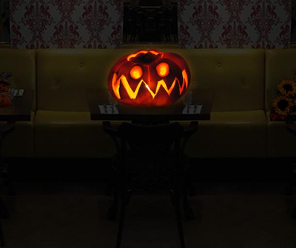 Restaurant Design for Halloween Party