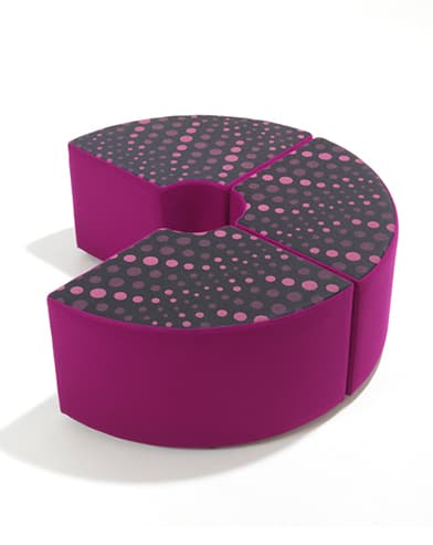 GB1095 Quadrant Modular Stool
