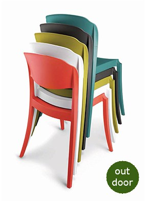 P2060S Stacking Side Chair