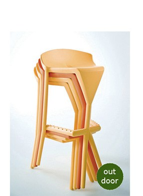 P2062HS Stacking High Stool