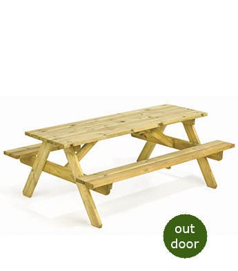 Pine Picnic Benches