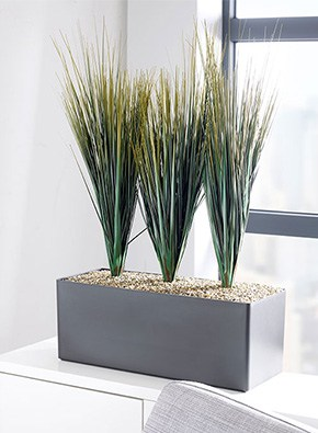 Savanah Grass Cabinet Trough