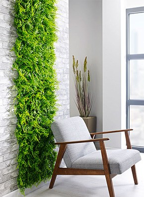 Juniper UV Green Wall