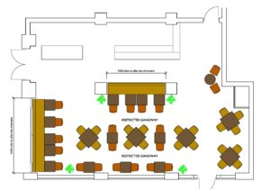 GBN Primo Restaurant Plan